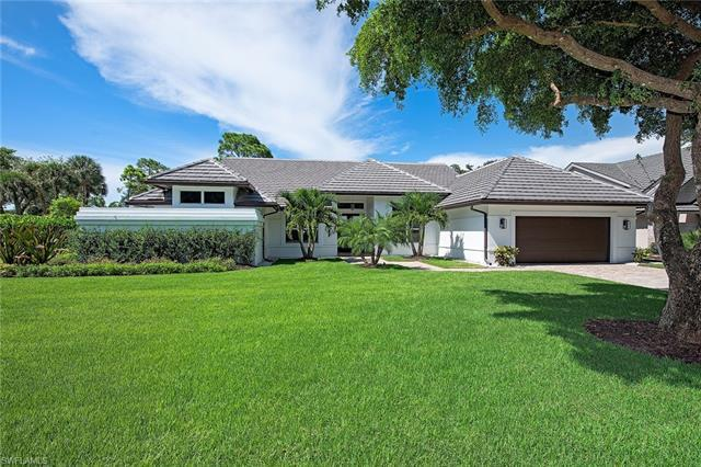 A rare opportunity, like brand new one story single family home in Pelican Bay. This timeless home w