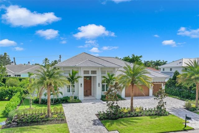 New FURNISHED custom home in the Moorings close to beaches and golf, is luxury at its finest. Though