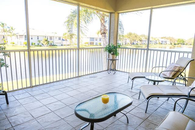 Beautiful panoramic water views from this second floor condo in one of Naples finest communities, Pe