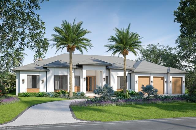 Spectacular new construction single story home located on an estate sized lot in Coquina Sands. Desi