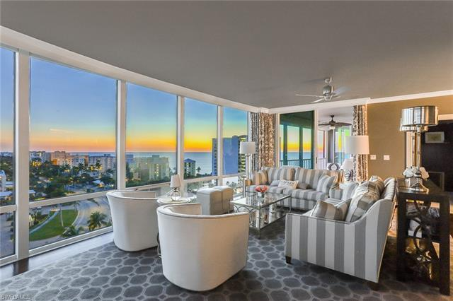Elegance, charm and warmth abound in this stunning beachfront, 11th floor residence. Relax and deli
