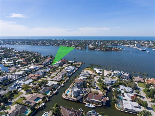 Far and few between. Only 3 doors from wide open views on Naples Bay. Most desirable southern exposu