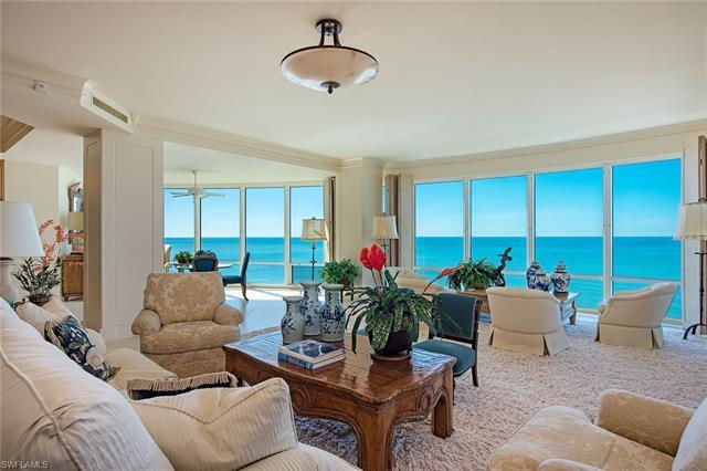Sensational seaside residence captures explosive Gulf, bay and city views. Impeccably designed and a