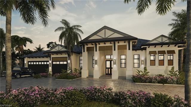 Milestone Development and Design presents 747 Park Shore Dr – This stunning residence features a gra