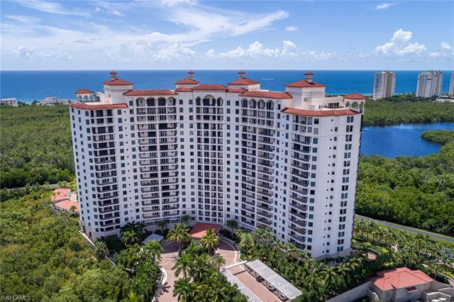 Ultimate luxury living at Montenero at Pelican Bay! This gorgeous unit, with private elevator, high-