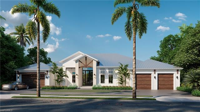Spectacular new build in the Moorings by Naples Luxury Builders with home design by award winning De