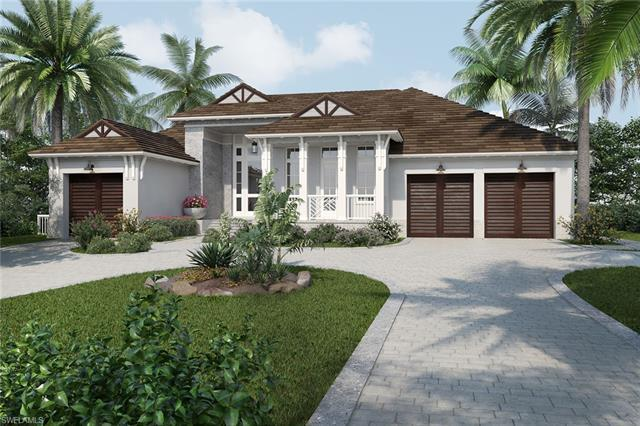 Located on one of the most desirable streets in the Moorings, this luxury residence by Lutgert custo
