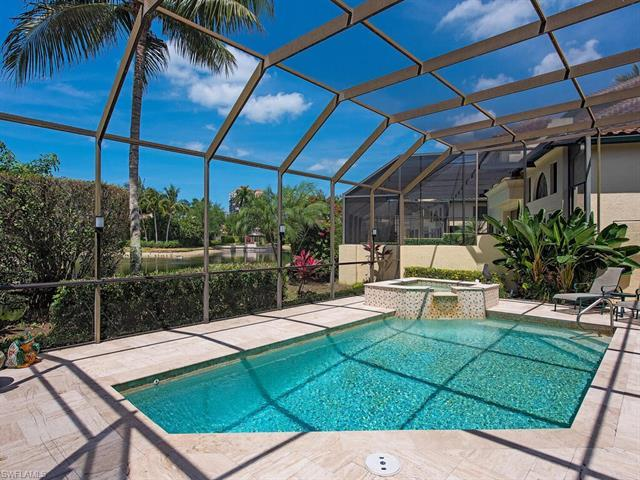 Be delighted by this joyfully light, sunny, and charming Lakefront single level Vizcaya Villa JEWEL