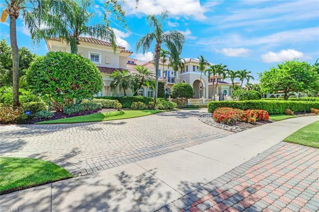 This elegant estate home was custom built by Gulfshore Homes and has over 6,900 sq.ft. of air-condit