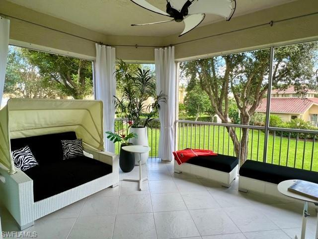 Rarely available 2nd floor condo, in the coveted Les Chateaux Community of Pelican Marsh! This turnk