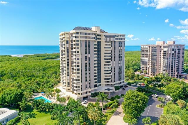 Stunning SW views of the Gulf of Mexico can be seen from every room of this 14th flor, 2 bedroom 2-1