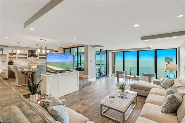 Gulf views galore the minute you step into this tastefully remodeled 18th floor Condo! Serenity and