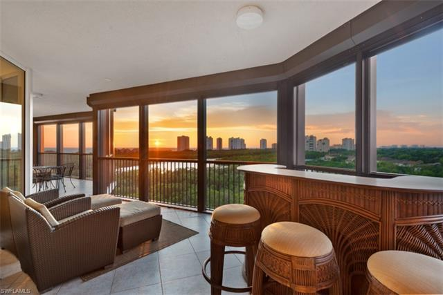 Awe-inspiring panoramic views of the Gulf and Pelican Bay Preserve create the perfect backdrop for s