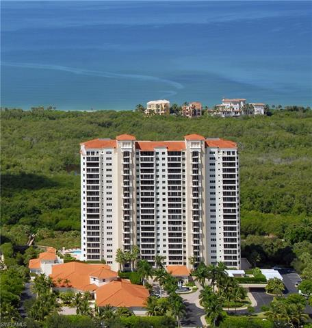 Enjoy sweeping 180 degree views of the Gulf from your 6th floor residence that includes two ensuite
