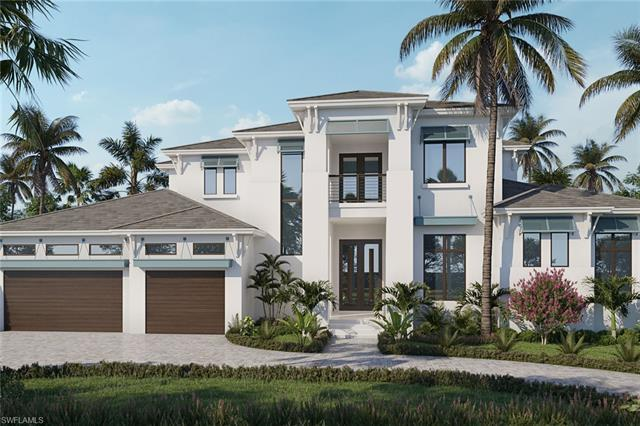 Live the Neapolitan lifestyle in this stunning new construction home located in coveted Park Shore.