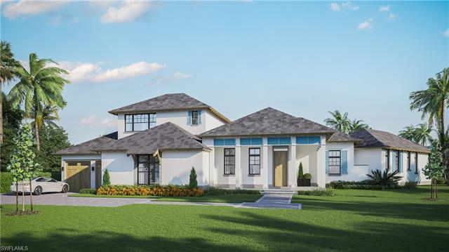 This generous sized corner lot in the Royal Harbor neighborhood is the perfect setting for your drea