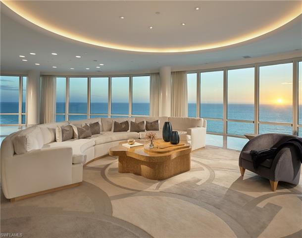 Dramatic, 360-degree views from gulf-to-bay are unmatched in this 12,000 sqft penthouse. Located in