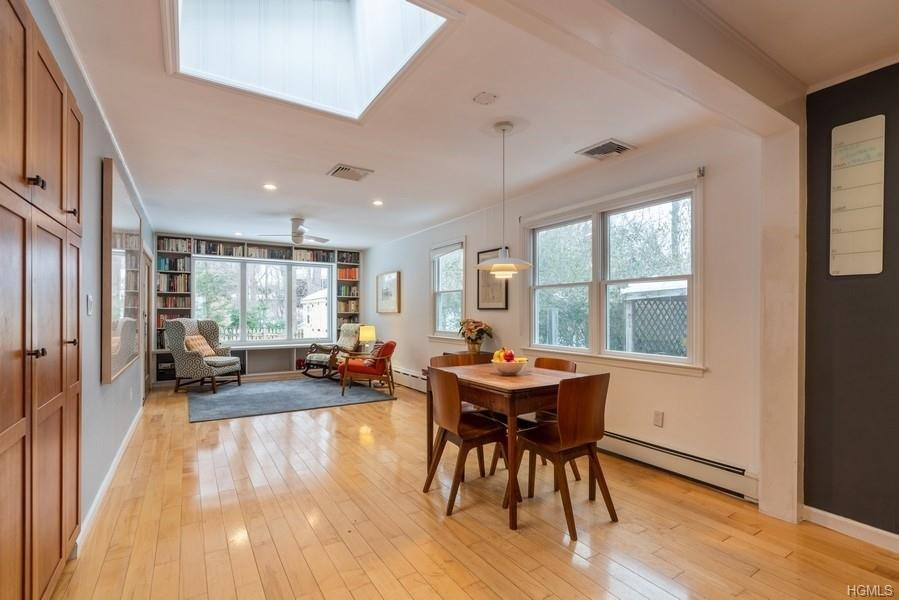 Warm & stylish Cold Spring Village gem! Set against the dramatic backdrop of Bull Hill on a quiet cu