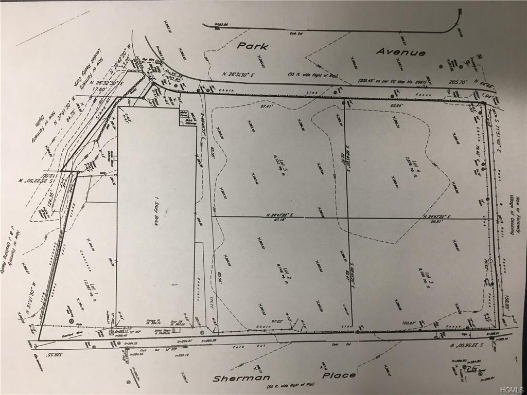Land = 4 subdivided lots with the capacity for a 4000+ Sq Ft home per lot. Parcel ID's = 89.16-3-88.
