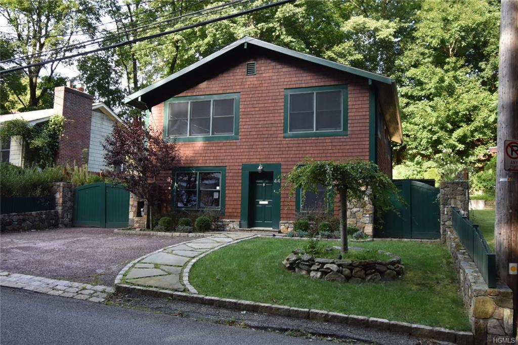 Unique home in Croton on Hudson which gives a country look outside and when you enter the home it ha