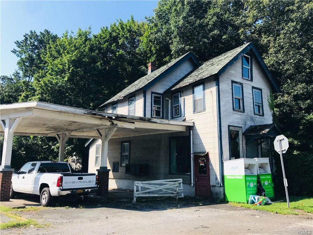 Convert to full residential or work and live in this mixed use house on 9A. The house sits on a corn