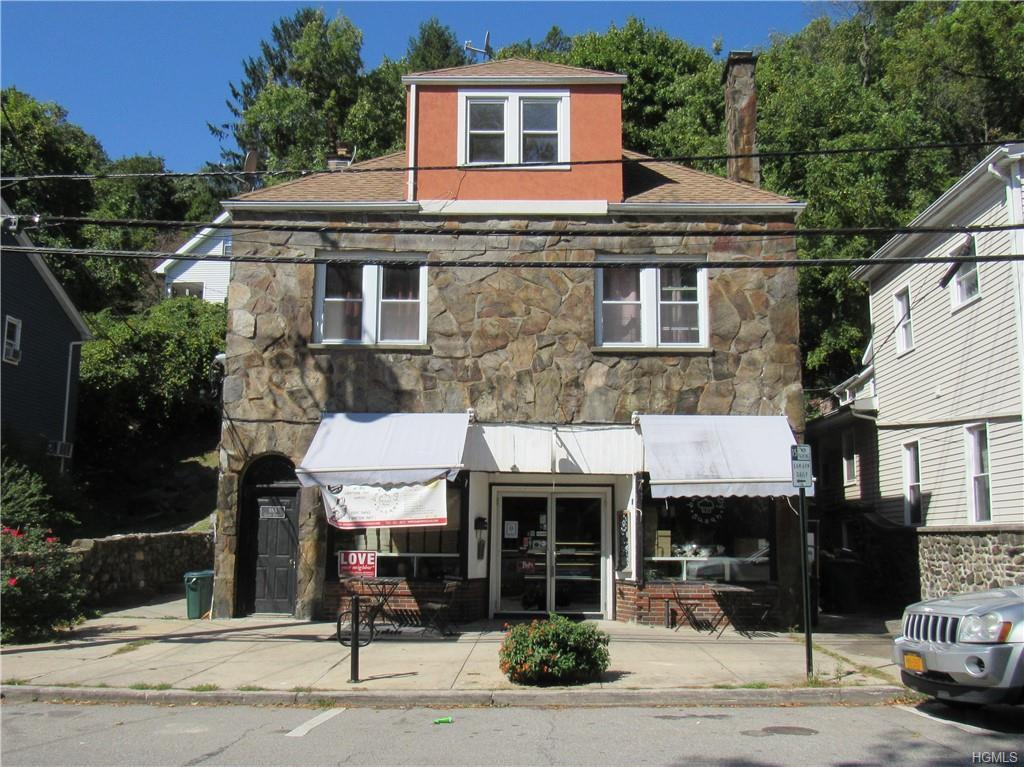 Calling all entrepreneurs!  Retail space with 1395 sf plus an additional 650+/- sf of storage space (basement) for your business.  Located in the heart of the Village.  Retail space is currently used as a bakery.  Can be used as retail, office, food services, etc. Three compartment sink, cooler, two bathrooms. Tenant pays for all utilities plus 80% of water bill. One Month Security Deposit and First and Last month of Rent. Owner looking for a long term tenant. Prospective tenant must have a Credit score of 600 or better.
