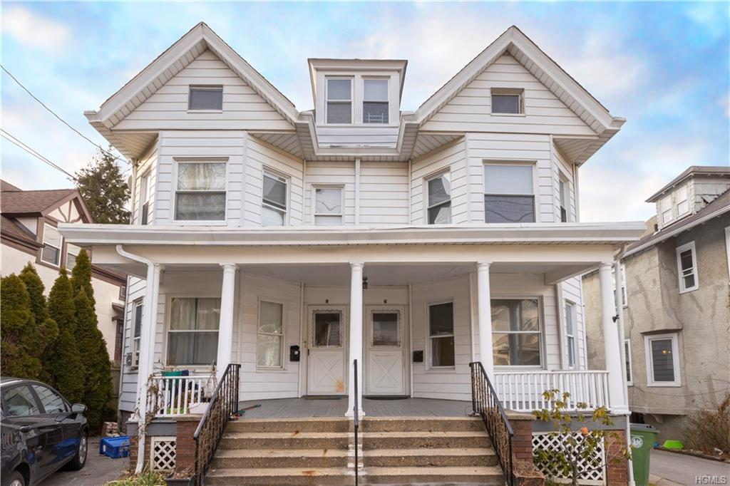 Nice size two family home in the heart of Tarrytown. This side by side 3 bedroom 2 full bath boasts