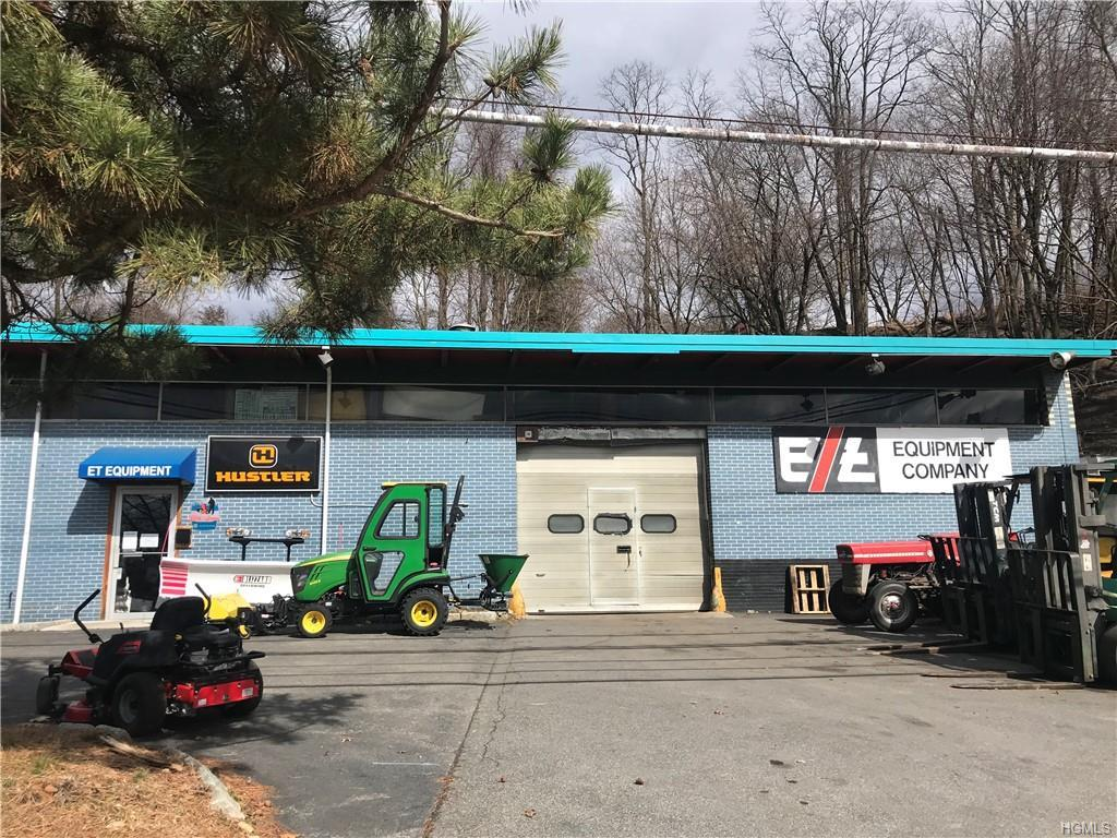 3196 Sq. Ft. of garage/warehouse space for rent. Currently used as an equipment sales, rental, and r