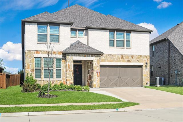 Spectacular and meticulously well-kept home in the sought after Sutton Fields subdivision. Built by MI Homes in 2018, this home features 2 master suites, beautiful open living areas upstairs and downstairs, a large media room, and an exquisite kitchen. The backyard features a magnificent, $20K upgraded and extended stone patio with wood pergola along with stone-kept flower gardens. With a master suite upstairs and downstairs, this home is flexible enough for any family. Upstairs features a huge, open living area that could be a workout area, living room, game room, or anything that you are creative enough to think of. Sutton Fields features swimming pools, parks, playgrounds, bike trails, tennis courts, & more.