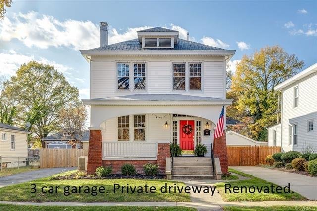 Dreams can come true.  This completely RENOVATED home in the heart of Brookland Park in 2017 has a P