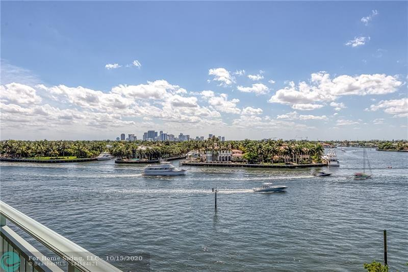 BEST LUXURY VALUE AT $370/Sq.Ft. DIRECTLY ON THE INTRACOASTAL, THIS BOUTIQUE BUILDING WITH 2 UNITS PER FLOOR HAS ONLY 16 RESIDENCES. 2 ELEVATORS OPEN INTO YOUR PRIVATE FOYER, 3BR / 3+1BA, 3,300 SQ. FT LIVING AREA, 3 COVERED BALCONIES, IMPACT DOORS AND WINDOWS-WITH WATER VIEWS FROM EVERY ROOM. REMODELED OPEN KITCHEN AND BATHROOMS. EACH BEDROOM HAS EN-SUITE BATHROOM AND BEDROOMS HAVE DIRECT ACCESS TO COVERED BALCONY.  2 GARAGE PARKING SPACES AND 2 DOGS WELCOME WITH MAXIMUM WEIGHT OF 50 LBS EACH. A/C STORAGE AND BUILDING MANAGER RESIDES ON SITE, 1 BLOCK TO BEACH, AND CLOSE TO RESTAURANTS. asking only $370/sq ft!!! BUILDING OPERATES WITH RESERVES.