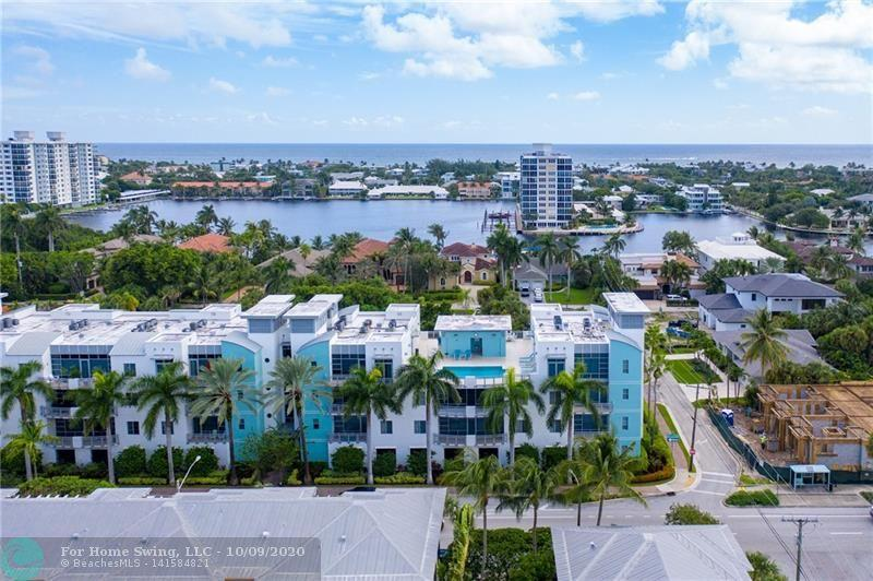 Contemporary boutique building located in exciting downtown Delray! Easy access to great restaurants, festivals, and the beach! This spacious 1BR/1BA corner unit has floor to ceiling windows with an East facing balcony, high volume ceilings, and an open concept plan. Additionally, there is a flexible space to be utilized as an office, additional bedroom, or whatever suits your needs. This unit  offers you the security of hurricane impact windows, extra storage space, an air conditioning unit that was replaced in 2018, and the convenience of a washer and dryer in your unit. In the mornings enjoy your cup of coffee on your balcony watching the sunrise, during the day lounge in your roof-top pool area, and at night go out on the town with frie