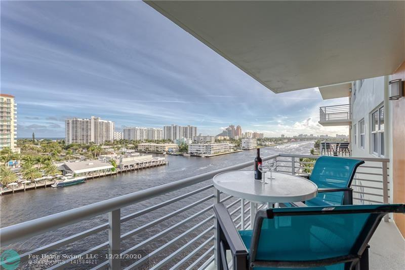 ** ENJOY FLORIDA'S LIVING AT ITS BEST IN THIS BEAUTIFUL 1BR/1BATH CONDO WITH BREATHTAKING MILLION DOLLAR VIEWS OF INTERCOASTAL & OCEAN AT LAUDERDALE TOWER CONDO**