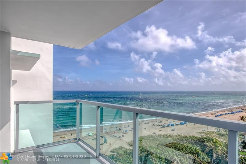 Wow! Million Dollar Ocean Views from this gorgeous corner unit on the 10th Floor. Totally renovated with hurricane impact windows, high-end finishes, crown molding, updated bathrooms and fabulous kitchen with custom cabinets, quartz counters and stainless steel appliances. Large open balcony with SE and SW views, great for viewing both the sunrise and the sunset. Tiffany Gardens East is directly on the beach and offers resort-style amenities: beach access, heated pool, shuffleboard, putt-putt and more. Perfect Beach Retreat… Come for the season or live her