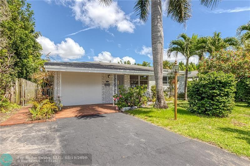Great Opportunity in Oakland Park! Affordable 2BD/2BA with large kitchen, terrazzo floors and nice backyard that is large and private. This is an Estate Sale in North Andrews Gardens. Quiet neighborhood that is less than 5 miles to the beach. Convenient location, close to plenty of shopping and restaurants and easy access to I-95. Bring Offers!