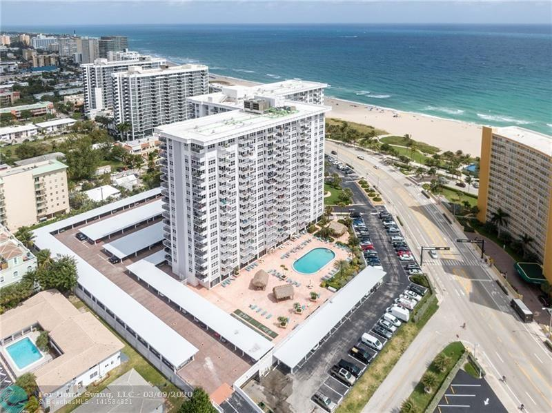 Amazing 15th Floor Condo @ Parliament House in the heart of Pompano Beach.  This 1 bedroom, 1.5 bath condo will take your breath away from the moment you walk in!  Brand new kitchen white Kitchen with granite counter tops & SS appliances. The master bedroom is spacious with 2 closets and one large walk-in  and large master bath, which has also been updated.  There are impact windows & doors, direct Intracoastal Waterway & Sunset views and so much more! This full amenity building offers 24 hour security, on site management, heated large pool and patio area