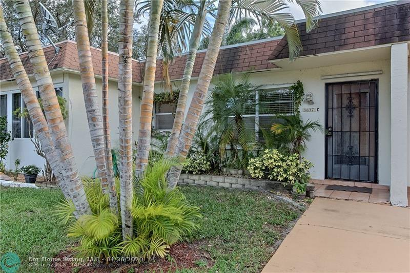 Spacious 1 bedroom / 1.5 bath VILLA located in a beautiful PARK LIKE SETTING, EAST of I95 and a few miles from the popular DEERFIELD BEACH PIER! Kitchen RENOVATION completed! GRANITE Countertops and STAINLESS STEEL Appliances! 55+ Community with CLUBHOUSE, FITNESS CENTER, POOL and Shuffleboard. LAUNDRY ROOM (Free) located next to the unit, shared with one other owner. PET FRIENDLY! Unit is just steps away from the POOL! Must see to appreciate. No Leasing for 5 years.