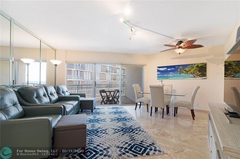 Available June 1st to Nov. 30th. This Is It! Look No Further! Updated & Furnished 1 Bedroom / 1 Bath Condo Located Directly On The Sand In Pompano Beach! Enjoy the Ocean From The Private Beach & Pool Area. Plenty Of Parking Available. Located Close to Restaurants, Shopping, Movie Theater, Golf, Pompano Beach Municipal Sports Complex/Park, New L.A. Fitness, Whole Foods, Newly Rebuilt Pompano Beach Pier & So Much More...