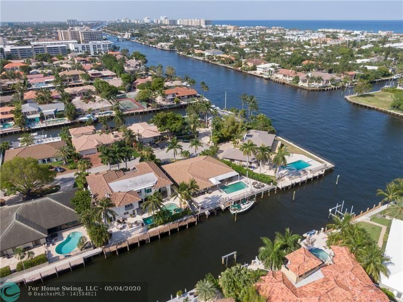 LOCATION-LOCATION-LOCATION -- Unlimited Potential with waterfront views just one lot off the Intracoastal. 