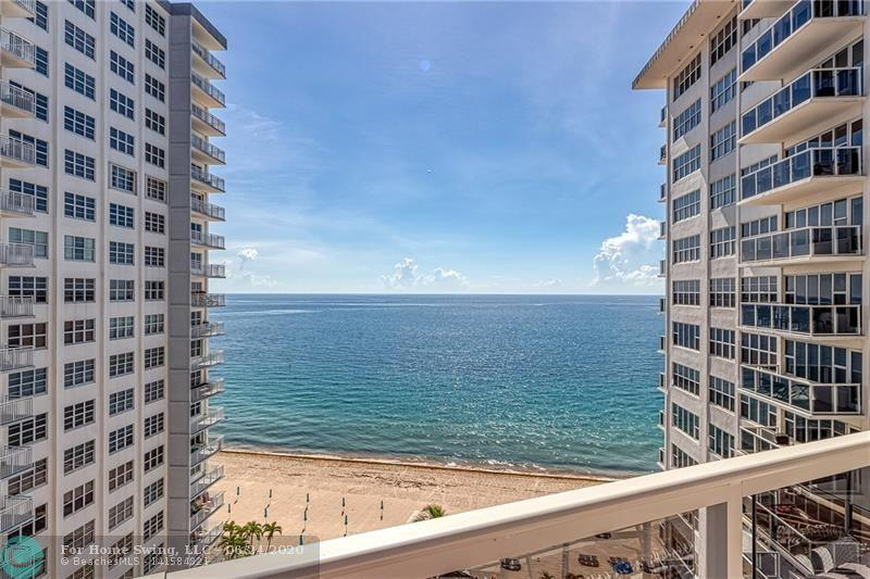 STUNNING DIRECT OCEAN VIEWS FROM EVERY ROOM ON THE 11TH FLOOR!  THIS UNIT HAS IMPACT WINDOWS, WOOD FLOORS THROUGHOUT, REMODELED KITCHEN WITH QUARTZ COUNTERTOPS, STAINLESS STEEL APPLIANCES. RENOVATED BATHROOMS. CORDLESS SHADES, PRE-WIRED ALARM SYSTEM & KEYLESS ENTRY/VALET. BRAND NEW BALCONIES. TIKI HUT & GRILLS. HEATED BEACHFRONT POOL.