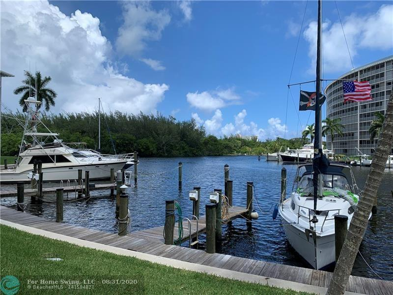 Great 2/2 condo in Hillsboro Cove, Center Harbor Building. Can be rented furnished or unfurnished. Beautiful view of boat docks,canal and Capone Island. Boat dockage with no fixed bridges available to rent by association. Unit is in walking distance to the beautiful Beach and Fishing Pier. Lots of local restaurants and shops in walking distance. 1 covered parking spot. 55+ community. Great pool area, great neighborhood, fantastic restaurants and Happy Hour spots right across the street (and directly on the Intracoastal), you will absolutely love this locat