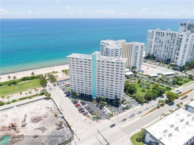 Spectacular Ocean Views from this 1BD/1BA in Lauderdale by the Sea! Well maintained unit on the 3rd floor, tile floors throughout and lots of sunlight and ocean breezes. The Caribe is directly on the beach with great amenities and fabulous outdoor space. Walk on the beach everyday and enjoy the beach lifestyle, oceanside pool, bbq grills, shuffleboard, gym and recreation room. Walking distance to the pier, shopping and great restaurants. Sorry, no pets... Cash only… No leasing. Perfect beach retreat!