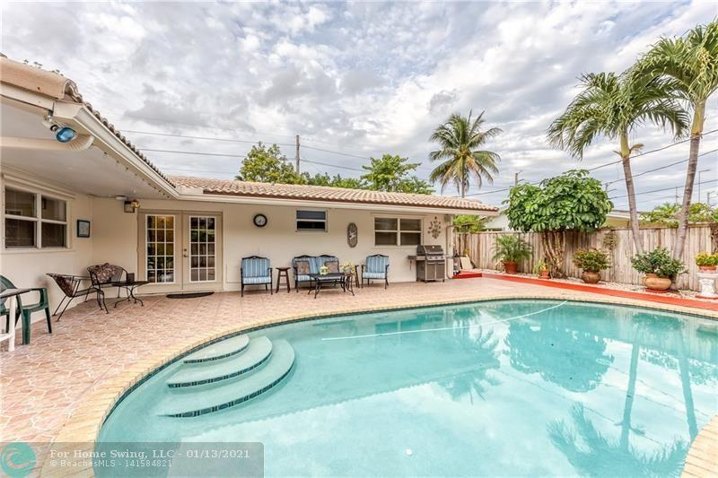 Pride Of Ownership Shows In This Charming 3 Bed / 2 Bath Pool Home Located In East Oakland Park. This Immaculately Maintained Home Features Many Improvements & Upgrades. New Exterior Paint (2020). All New Stainless Steel Appliances in 2019, New Cabinets, & Granite Counter Tops In Kitchen (2018). New Tile Throughout Main Area Of The Home (2018). New Tankless Water Heater (2019). 2nd Bathroom Completely Remodeled in 2018. All New A/C Ducts (2018). 4 Ton A/C Replaced in 2015. Newer Washer & Dryer, Impact Rated Garage Door. Garage Was Converted Into An Office (4th Room) With Central Air. New Roof (2006). Home Is Located In A No Flood Zone. Located Less Thank 5 Minutes to The Beach & Downtown Lauderdale-By-The-Sea. Close to Restaurants, Hospital
