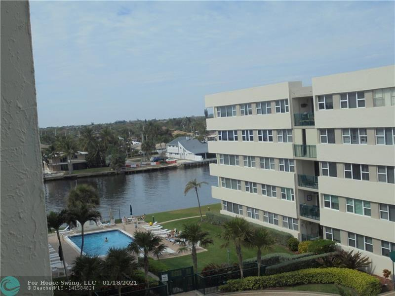 VIEW OF INTRACOASTAL FROM BALCONY