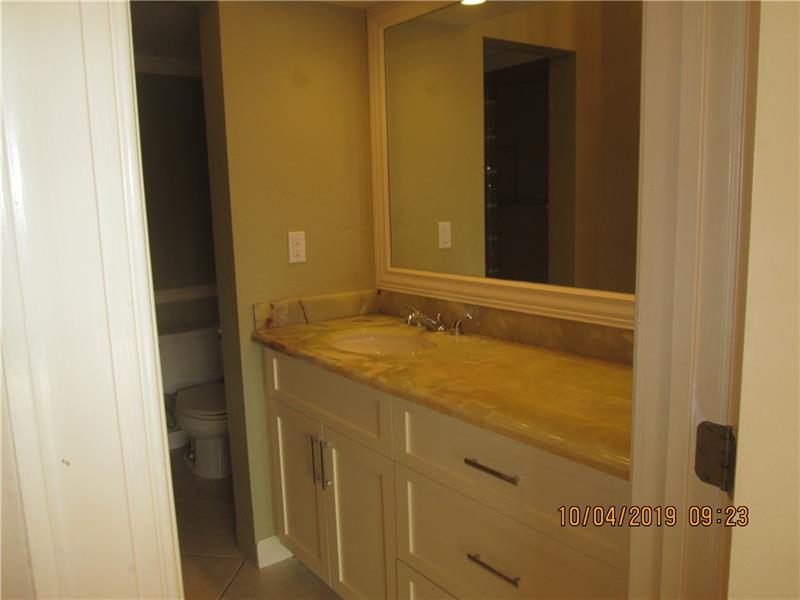 Main bath, separate shower area