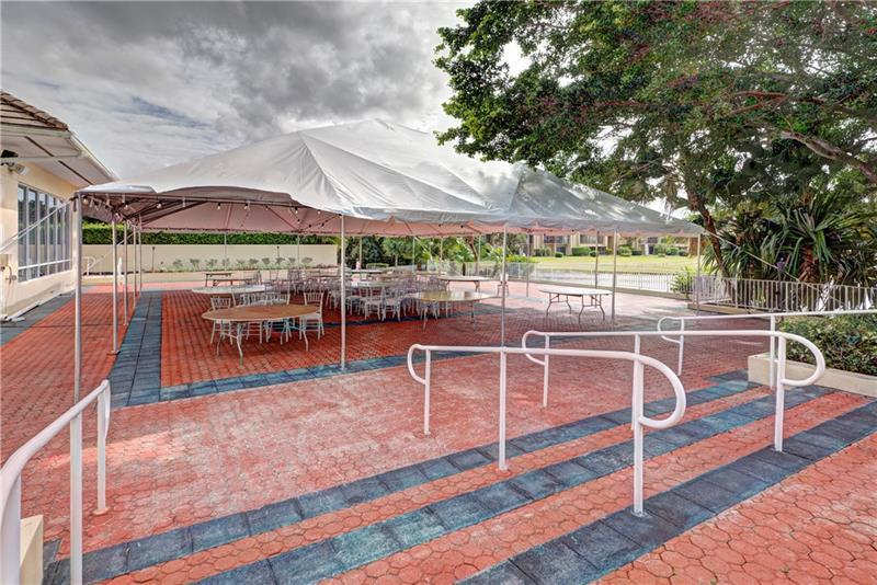 Outdoor seating for events