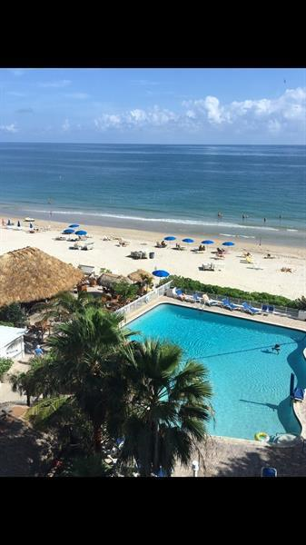 The Only Beach Front Condo/Hotel on Sand that can be Rented 365 days a year! Make this Stunning 2/2 Split  Bedroom, Direct Ocean, Open Concept Floor Plan Your Special Vacation Retreat/Investment! Fully Renovated and Sleeps 8 Comfortably on Beds. Ocean Views with Floor to Ceiling Windows the Moment you Enter.  This Unit has a Lock-off Feature which Makes it the Perfect Investment.  Unit comes with the  First Cabana on Sand that can be rented separately.  Imagine Long Lazy Days on the Beach, Then Retreating to Your Private Cabana with Shower and End the Evening with a Refreshing Summer Cocktail. Join the Fun At the Infamous Tiki Bar or a Spectacular Dinner at Casa Calabria. Best Locations on The Beach with Close Proximity to everything SFLO.