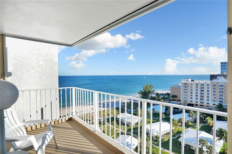 """WOW! """"OFF-SEASON"""" SUMMER RENTAL on the BEACH! SOUTH FACING 2BR / 2 Bath condo in the POMPANO AEGEAN with SPECTACULAR OCEAN and CITY VIEWS as well as LAKE SANTA BARBARA and the INTRACOASTAL. This 1650 SF unit is the LARGEST floorpan in the building and has a separate DEN area. WASHER and DRYER in the unit! This building is located on a WIDE section of SANDY BEACH just South of the POMPANO PIER, close to numerous SHOPS and RESTAURANTS. Building includes all the amenities: Pool, Spa, Beach Access, Ping-Pong, Fitness Center, Recreation Room, Library and more! Available April 1st 2021 - July 31, 2021. Tenant will pay 13.5% tourist taxes and utilities."""