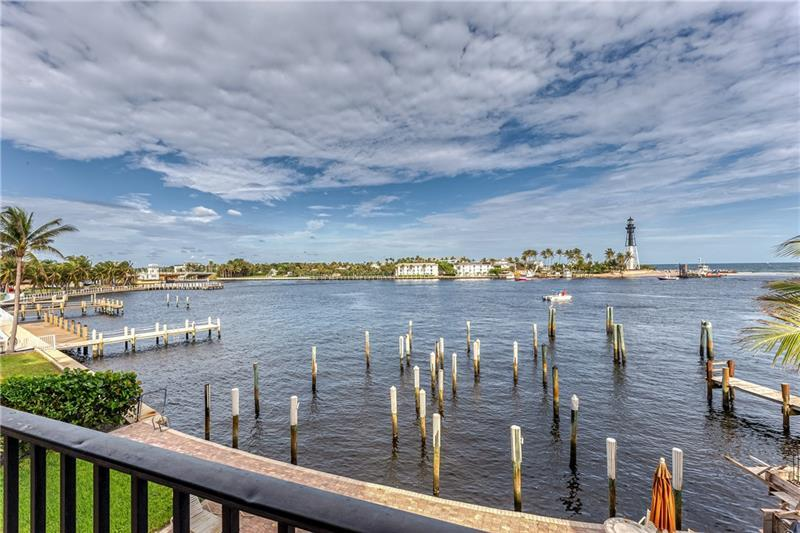 Enjoy south Florida living with these spectacular water views