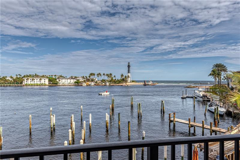 Incredible Lighthouse and Hillsboro Inlet views